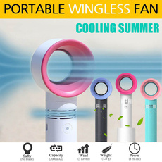 Mini, leaf, portable, minifan