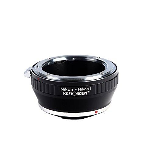 V2 J2 Mirrorless Cameras K/&F Concept Lens Mount Adapter,Nikon F Mount Lens to Nikon 1-Series Camera for Nikon V1 J1
