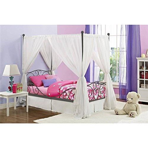 Metal Bed S Frame Princess Bedroom