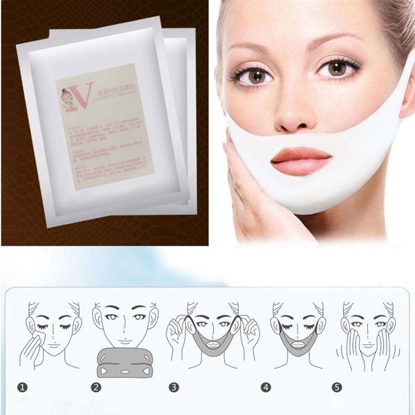 hydrogelmask, facelifting, 4ddoublevfacemask, Face Mask