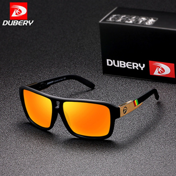 DUBERY Men Women Polarized Sunglasses Outdoor Driving Fishing Riding Glasses New