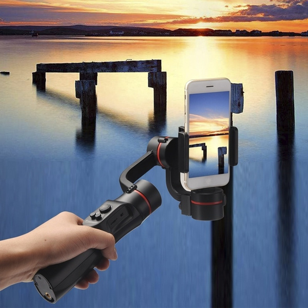 3-axis 360°Camera Camcorders Phone Gimbal Handheld Stabilizer For Iphone  Youtube For Phone