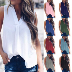 Summer, Vest, Fashion, chiffon