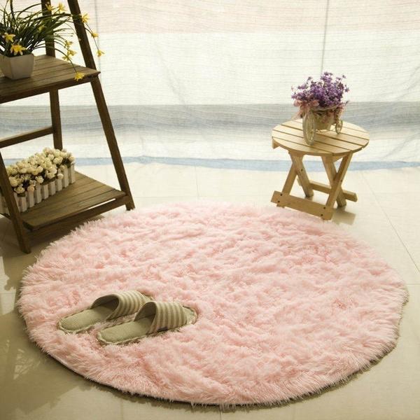 target pink circle rug cute