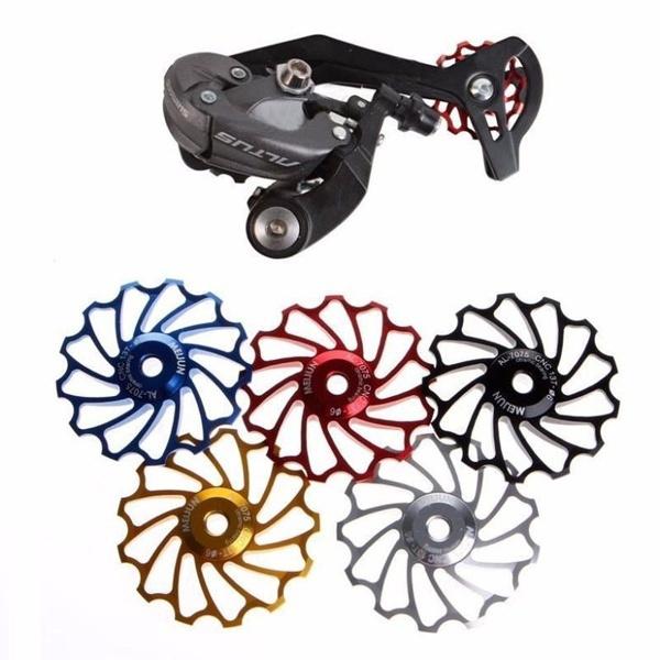 MTB Road Bicycle Bike Derailleur Jockey Wheel Pulley Bearing Accessories LD