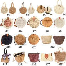 Summer, women39sfashion, Totes, wovenbag