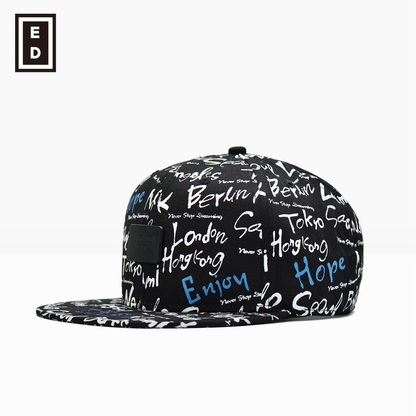 a68a95c3f54ba6 Summer Boy Baseball caps Graffiti Eye men Solid Canvas hats Vintage ...