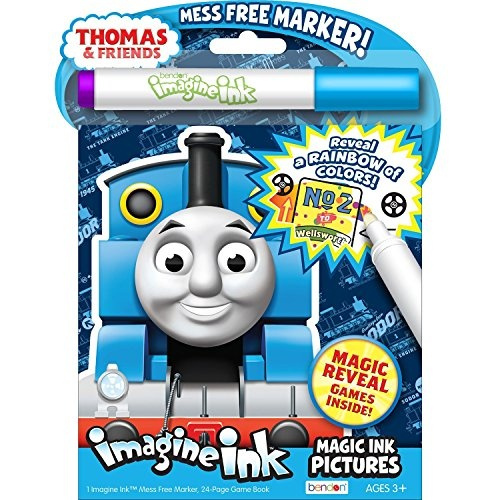 Wish Thomas Friends Coloring And Stickers Bundle One Imagine
