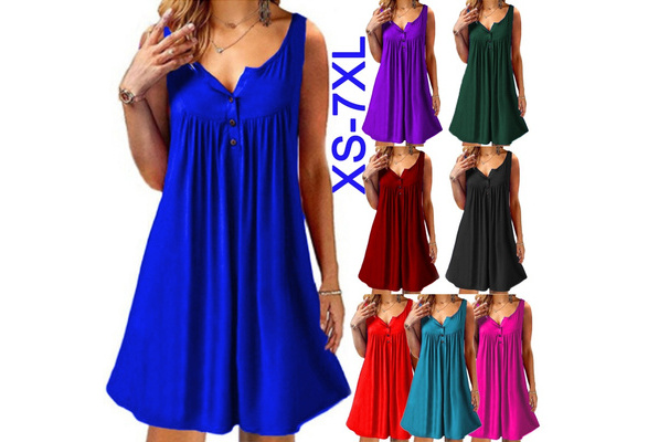 f316f437a0776 wish | Women Summer White African Tunic Shirt Dress Dashiki Printed Split  Neck Plain Straight Midi Dress For Ladies S-5XL X-Large.