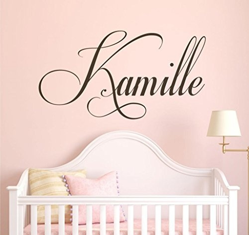 Nursery Custom Name Wall Decal Sticker, 40\