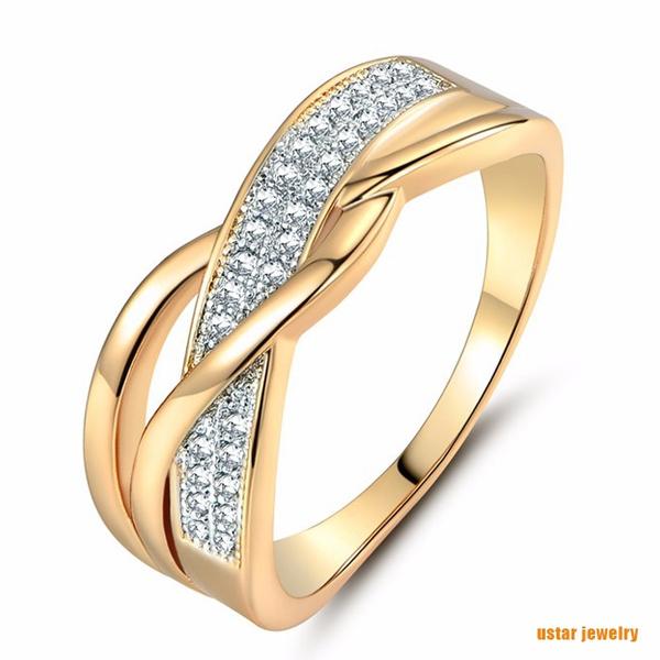 Cubic Zirconia, Women, Fashion, wedding ring