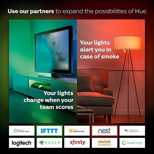 Philips Hue White and Color Ambiance PAR16 Dimmable LED Smart Spot Light  (Works with Alexa Apple HomeKit and Google Assistant)