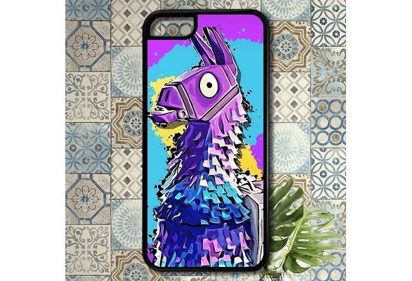 the latest 13559 fb370 Fortnite Loot Llama phone case for iPhone 4/5/5s/6/6S/6 Plus/6S Plus/7/7  Plus/8/8 plus/X,samsung galaxy and note cell phone