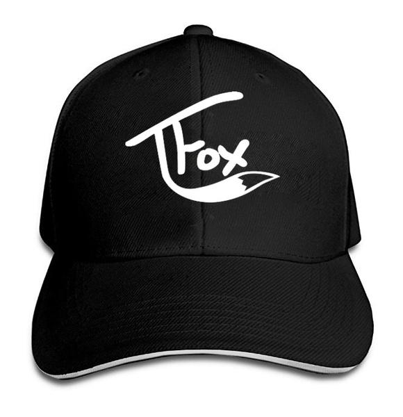 99aca1017ce Tanner Fox Fashion Unisex Baseball Printed Hat Custom Logo Men Women ...