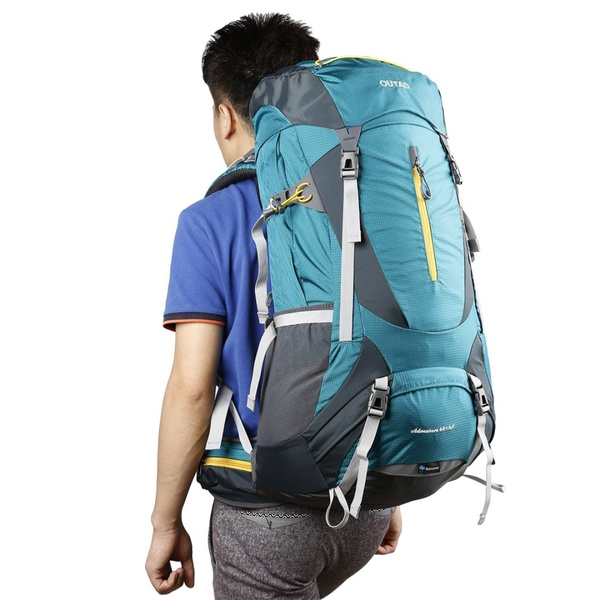 OUTAD 60+5L Outdoor Water Resistant Sport Backpack Hiking Camping Travel NEW