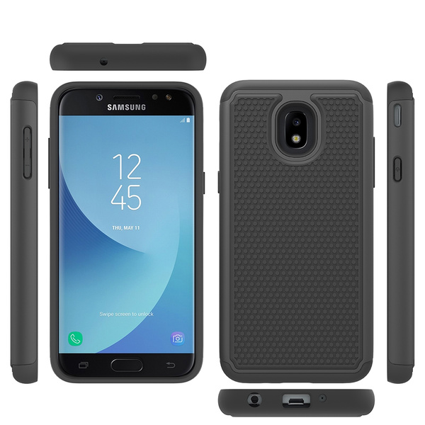 Case for Samsung Galaxy J3 2018 , J3 Star Case / J3 Orbit Case / J3 Achieve  Case/ J3 Amp Prime 3/ J3 Express Prime 3 Case/ J3 Emerge 2018, Dual Layer