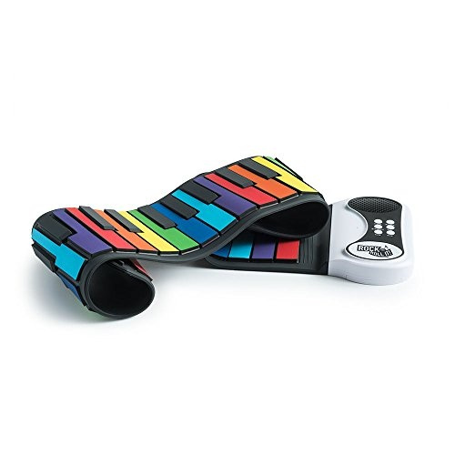 FLEXIBLE Rock And Roll It MukikiM Rainbow PIANO Completely Portable Music Kids