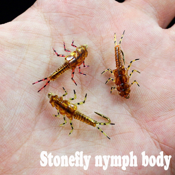 Outdoor, Fishing Lure, rubberbody, nymph