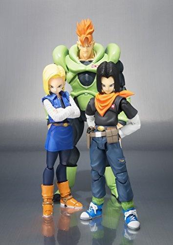 Bandai Tamashii Nations SH Figuarts Android 16 Dragon Ball Z Action Figure