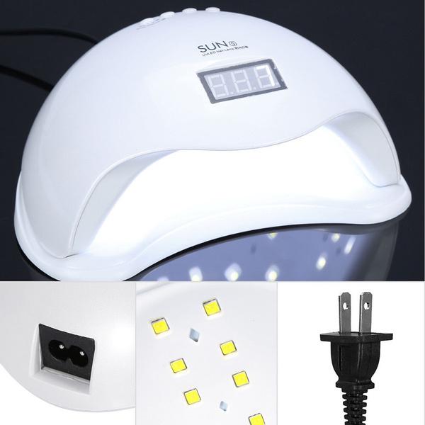 Wish   New 48W SUN5 LED UV Nail Lamp Light Gel Polish Cure Nail ...