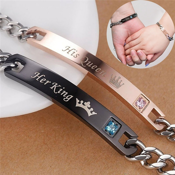 Charm Bracelet, King, Wristbands, crown