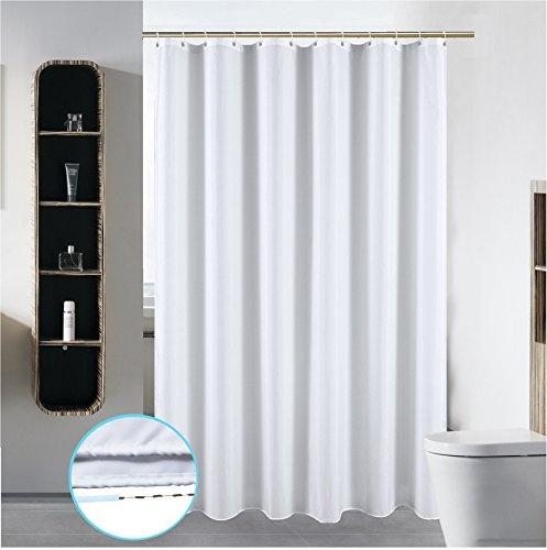 Wish | 72 x 84 Washable Shower Curtain Liner Bathroom Waterproof ...