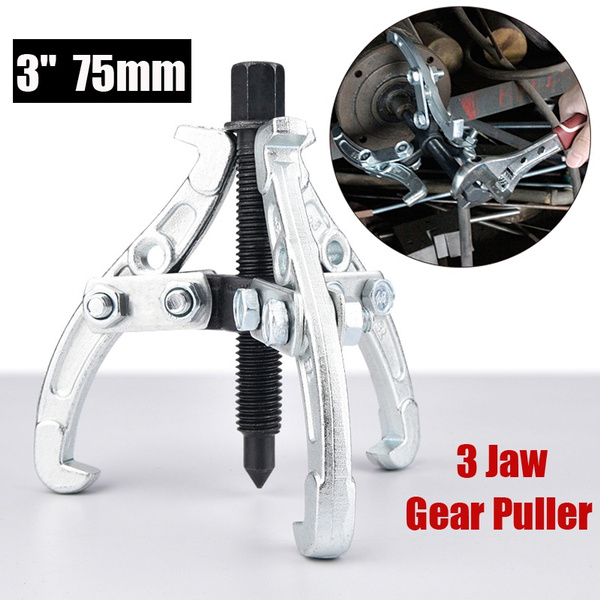 75mm Three Jaw Gear Puller Pulley Puller Bearing Gear Pulley Remover Tool