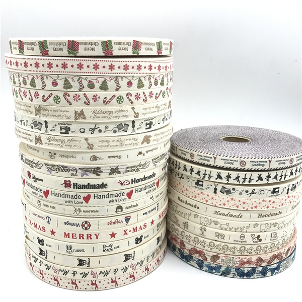 printedribbon, Christmas, Sewing, Handmade