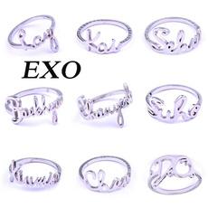 K-Pop, kpopexo, ring necklace, Jewelry