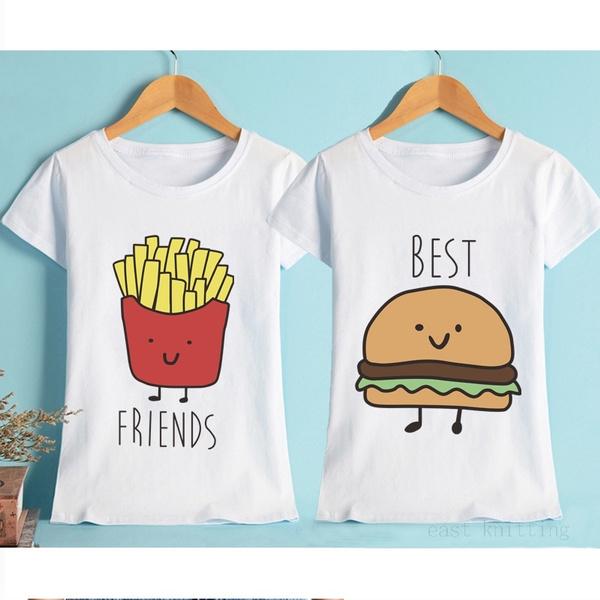 Ubergrosse Hemd Burger T Shirts