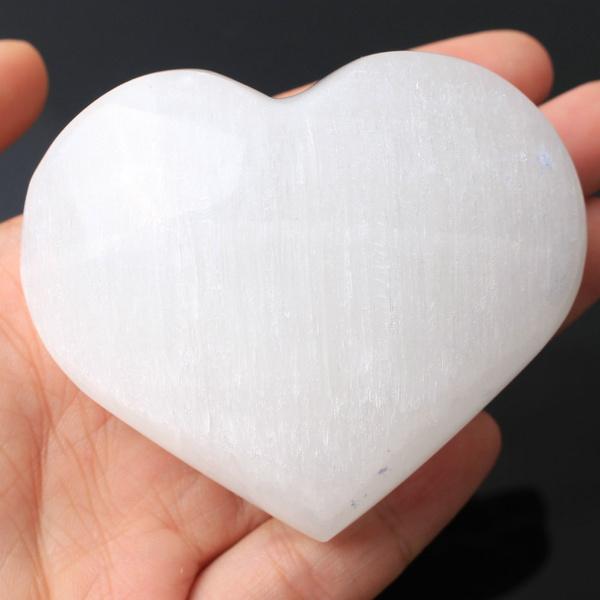 Heart, gypsum, Home Decor, Crystal