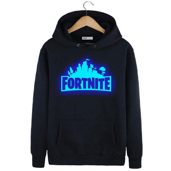 Fortnite Funny Gamer Hoodie Mens And Womens Hoodie Tops Casual Luminous Print Sweatshirt