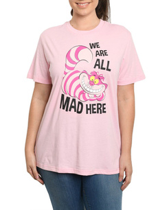 pink, T Shirts, Plus Size, mad