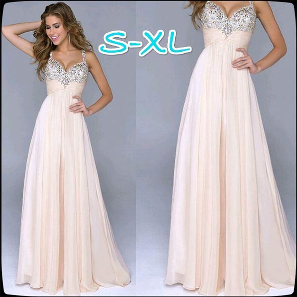 Abiti Da Cerimonia Wish.Women S Wear High End Bridesmaids Sequins Wedding Dress Chiffon
