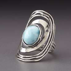 Sterling, Turquoise, Fashion, wedding ring