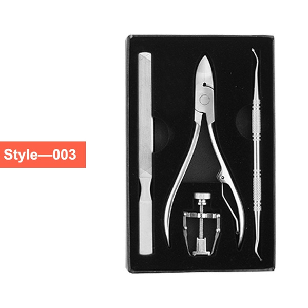Wish | Stainless Steel Ingrown Toe Nails Manicure Pedicure Foot Nail ...