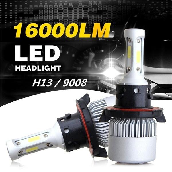 H13 CREE LED Headlight Kit High Low Beam for Dodge Ram 1500 2500 3500 2006-2012