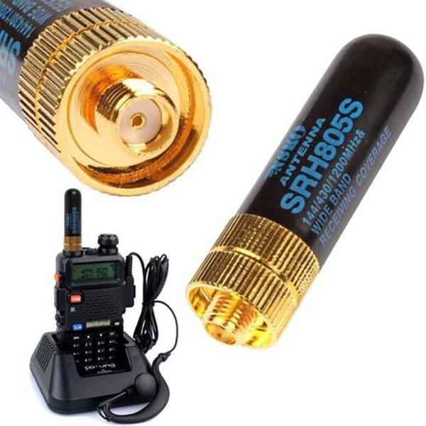 DIAMOND SRH805S SMA-F Female Dual Band Antenna Baofeng GT-3 UV-5R BF-888s Radio
