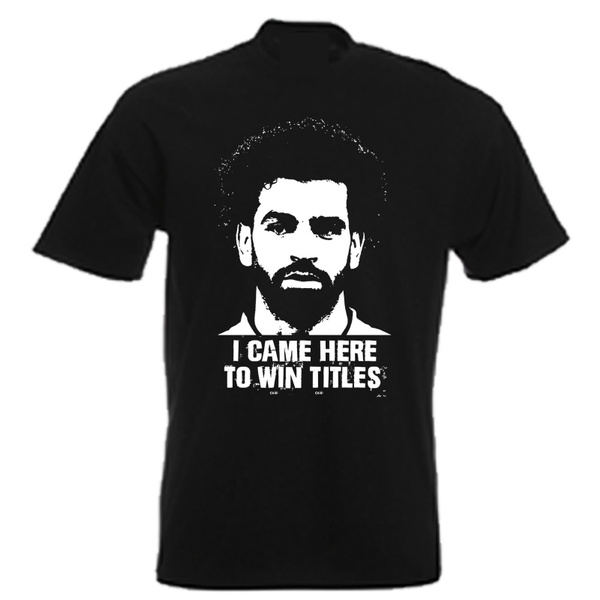 official photos 2f7f3 b607e Mens Mo Salah Egyptian King Liverpool Football Soccer Jersey Graphic Tee  Shirt Cotton T Shirt Casual Tops