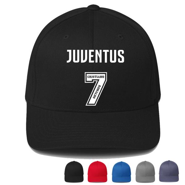 924f0277fd5a9 Cristiano Ronaldo Juventus Logo 2 Print Baseball Cap Unisex Men ...