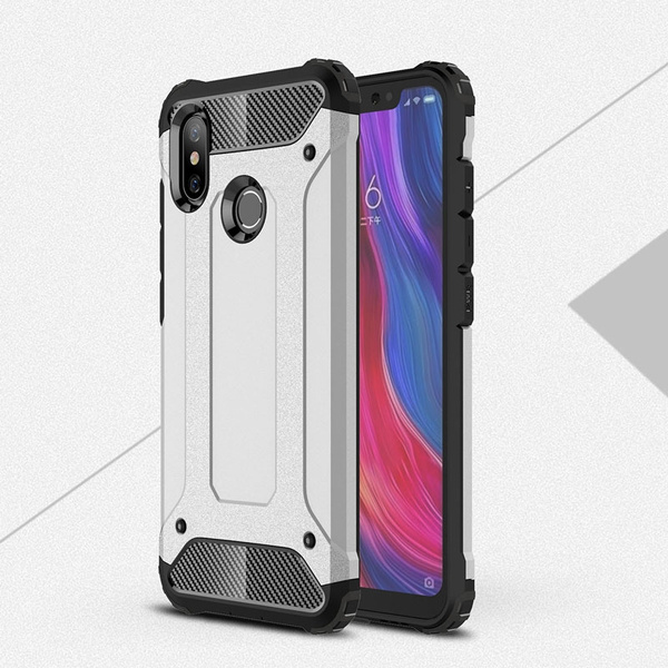 hot sale online 9b156 1ce96 Case For Redmi 6 6A Case Luxury Hybrid Hard PC Soft TPU Armor Shockproof  Rugged Back Case Cover For Xiaomi Mi 5 5SPlus Note2 6Plus 5X A1 8 8SE Redmi  ...