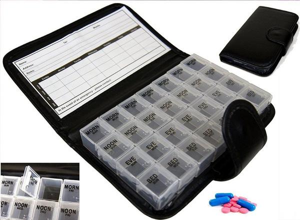 Box, pillbox, medicineholder, pillholder
