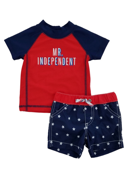 Carters Baby Boys Mr Independent Rashguard Swim Set