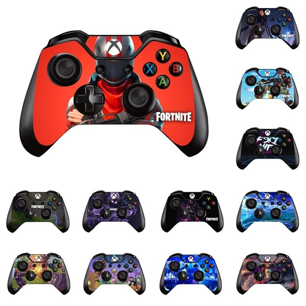 Hot Game Fortnite Skin Sticker Decal For Microsoft Xbox One Game Controller Skins Stickers For Xbox One Controller Vinyl