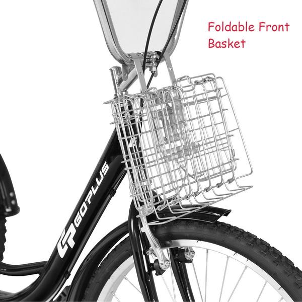 Three wheeler 5 speed adult bike