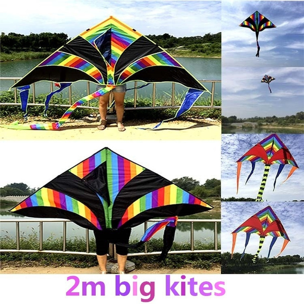 rainbow, Outdoor, kite, Colorful