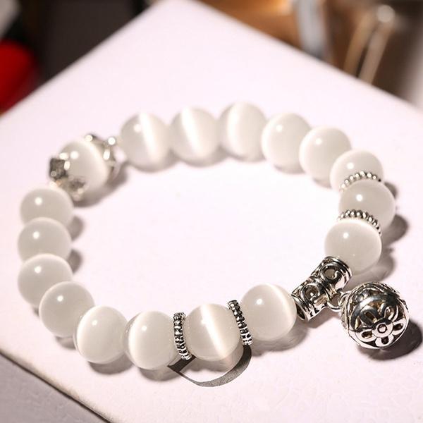 ethnicmattecrystal, Charm Bracelet, Fashion, Jewelry