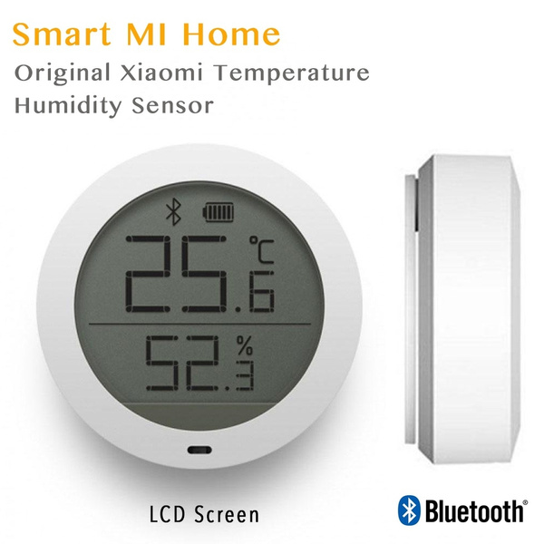 Xiaomi Bluetooth Temperature Humidity Sensor LCD Digital Thermometer Mi Home APP