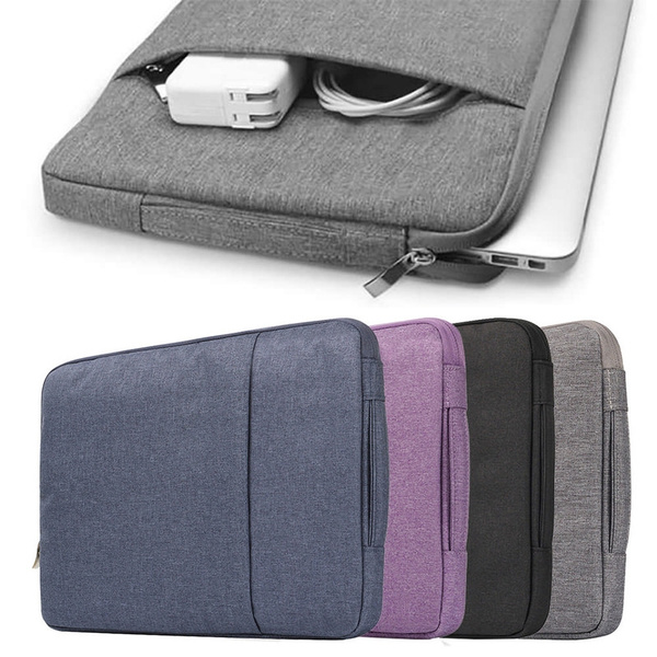 Laptop Sleeve Water-Resistant Computer Case Portable Carrying Bag Against