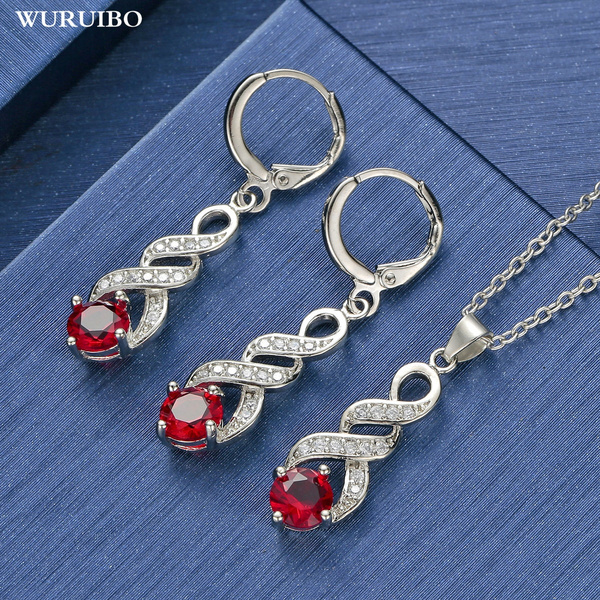Sterling, Fashion, 925 sterling silver, crystaljewelryset